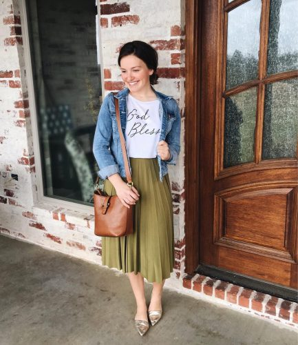 e2a7a9c418 I hope these cute little outfits give you some inspiration to be fashionable  and modest for church events or any other day. Remember though that true ...